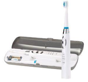 newgen medicals Zahnbürste USB-Elektrische Schallzahnbürste mit UV-Sterilisator & USB-Reiselade-Etui