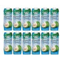 [-12x-1-Liter-]-YACO-Kokosnusswasser-100%