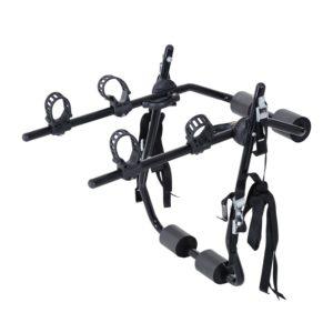 Homcom Heckträger für 2 Fahrräder mit Gurte