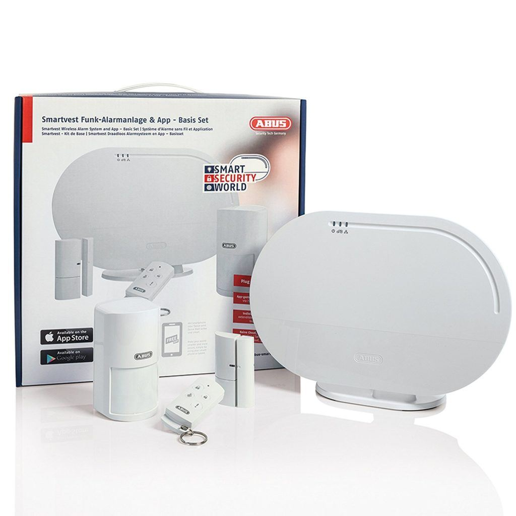 ABUS Funk Alarmanlage Smartvest Basisset FUAA35001A 77443 Test