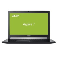 Acer Aspire 7 A717-71G-59FW 43,9 cm (17,3 Zoll Full-HD IPS matt) Multimedia/Gaming Notebook (Intel Core i5-7300HQ, 8GB RAM, 1.000GB HDD, NVIDIA GeForce GTX 1050Ti (4GB VRAM), Win 10) schwarz