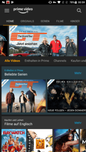 Amazon Prime Video on Demand