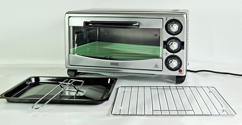 BEEM 18L Miniofen UMLUFT 1380W Pizzaofen Minibackofen Ofen Timer Backofen im test