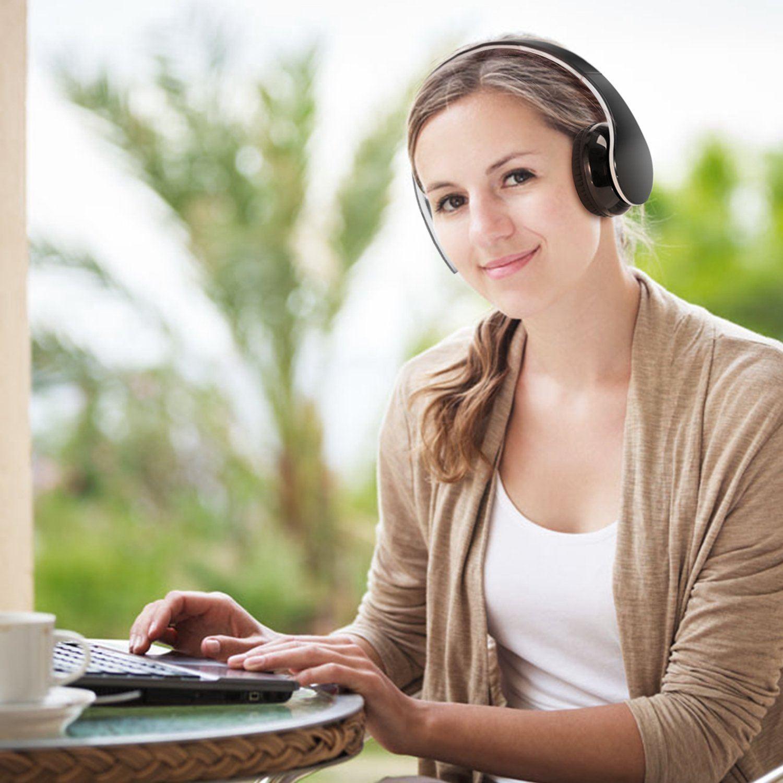 Bluetooth Kopfhörer, Wireless Bluetooth 4.1 Stereo Kopfhörer Dynamisch Geschlossen test