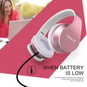 Bluetooth Kopfhörer,Sunvito Headsets Faltbare Wireless Funkkopfhörer - test