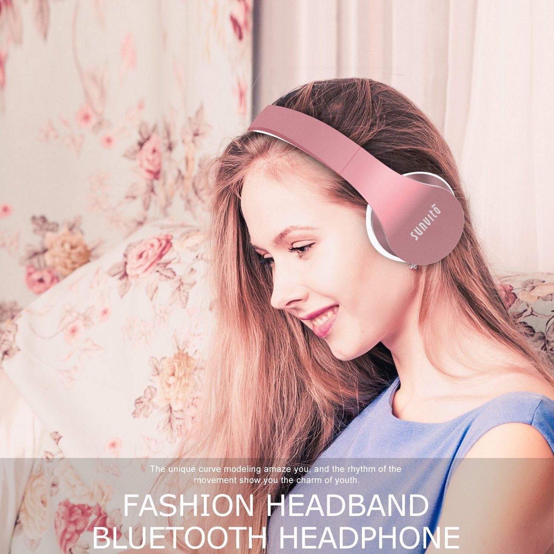 Bluetooth Kopfhörer,Sunvito Headsets Faltbare Wireless Funkkopfhörer test