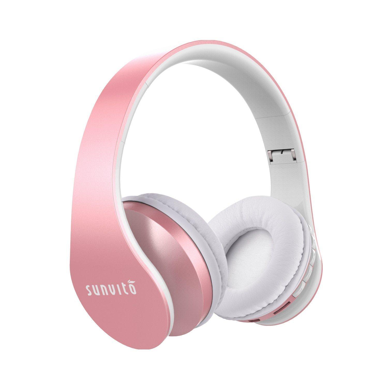 Bluetooth Kopfhörer,Sunvito Headsets Faltbare Wireless Funkkopfhörer