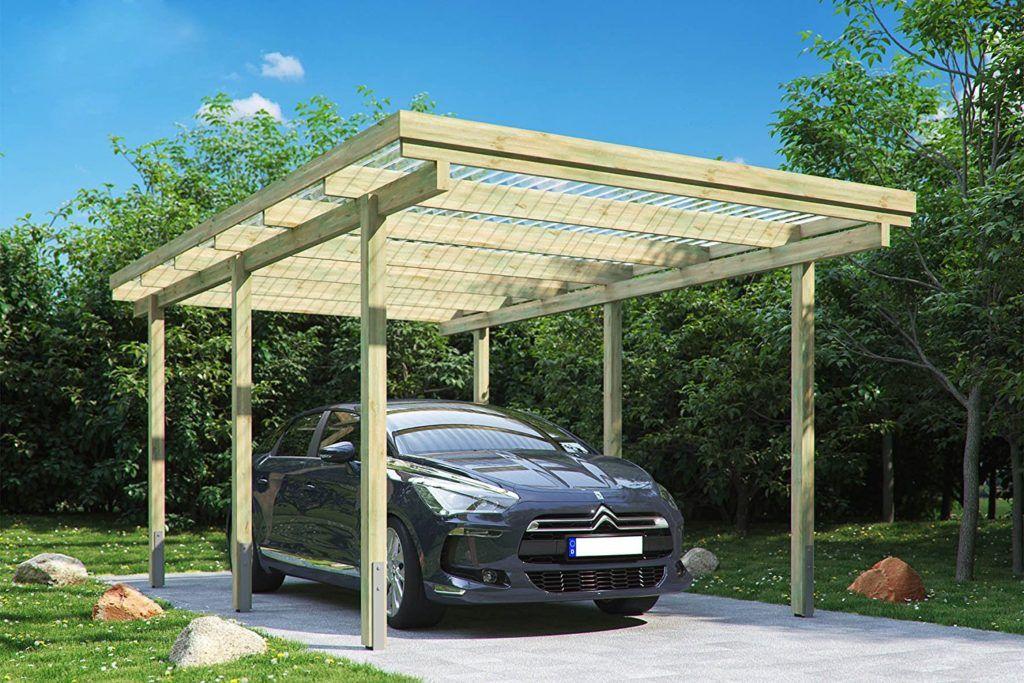 Holz Oder Aluminium Die Materialfrage Beim Carport Bau