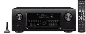 Denon AVRX4400H 9.2 Premium AV-Receiver (HEOS Integration, Dolby Vision Komtabilität, Dolby Atmos, dtsX, WLAN, Bluetooth, Amazon Music, Spotify Connect, HDMI Eingänge, 9x 200 W) schwarz
