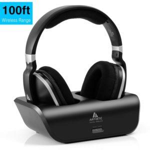 Digitales Wireless Kopfhörer 2.4GHz Übertragungsfrequenz Over Ear Funkkopfhörer mit Ladestation