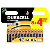 Duracell Batterie Plus Power Micro AAA