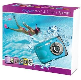 Verpackung von Easypix W1024-I Unterwasserkamera im Test