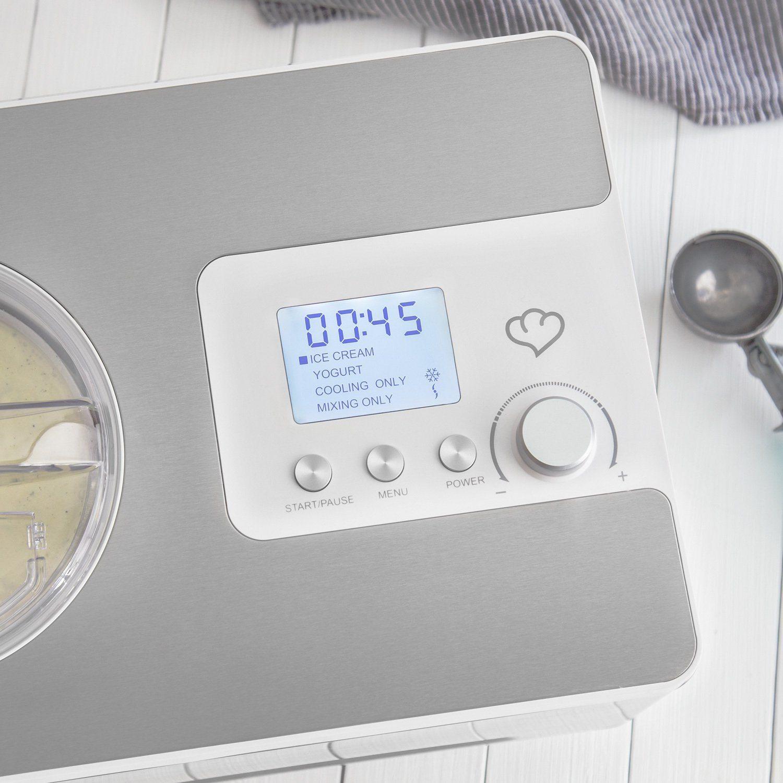 Eismaschine Elisa 20 L Mit Selbstkühlendem Kompressor