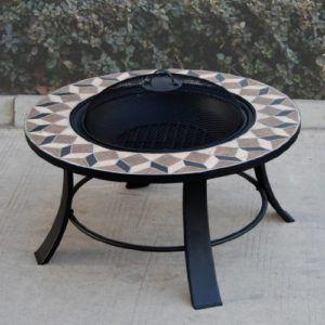 BBQ-Toro Feuerschale im Stein-Dekor