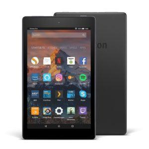 Fire HD 8-Tablet mit Alexa, 20,3 cm (8 Zoll) HD Display, 16 GB (Schwarz), mit Spezialangeboten