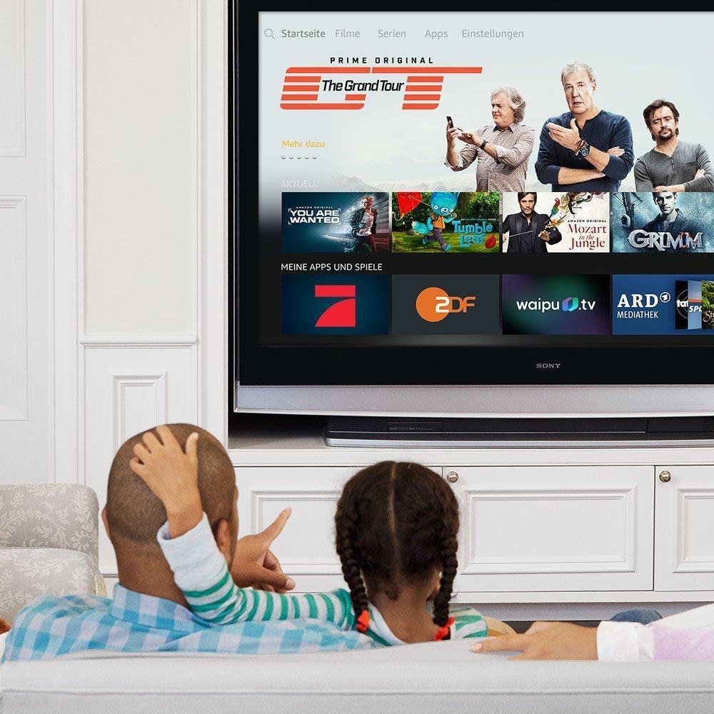 Fire TV Stick mit Alexa-Sprachfernbedienung Online TV