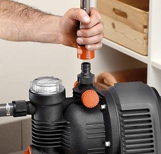 Das Hauswasserwerk mit Trockenlaufsicherung von Gardena 5000 5 eco im Test und Vergleich bei Expertentesten