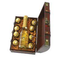 Geschenk-Mini-Truhe-Gold-Schätzchen