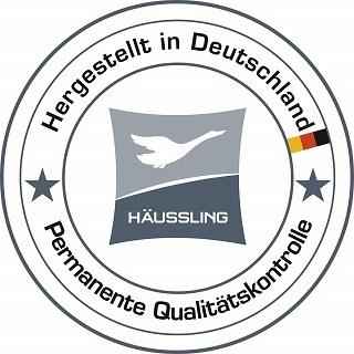 Die Häussling 210380501500 Daunendecke wird in Deutschland hergestellt Test