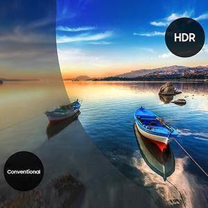 HDR sorgt für einen deutlich erhöhten Kontrastumfang. Inhalte in diesem Format wirken durch den starken Kontrast kräftig, hell und detailreich.