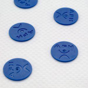 HISTAMAT ABS 2.0 DAS ORIGINAL ca. 68 x 40 cm Nadelreizmatte Akupressurmatte Farbe blau