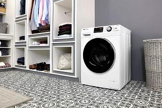 Die HW80-B14636 Waschmaschine Frontlader hat viele Vorteile im Test gezeigt