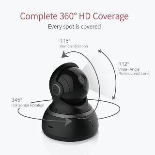 Die KAMTRON Wlan IP Überwachungskamera 720P HD Benutzung im Test