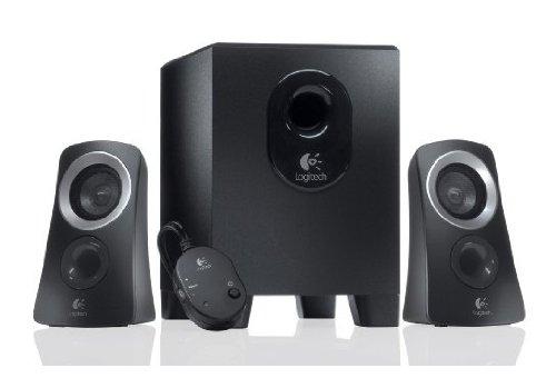 Logitech Z313 PC Lautsprechersystem (2.1) schwarz