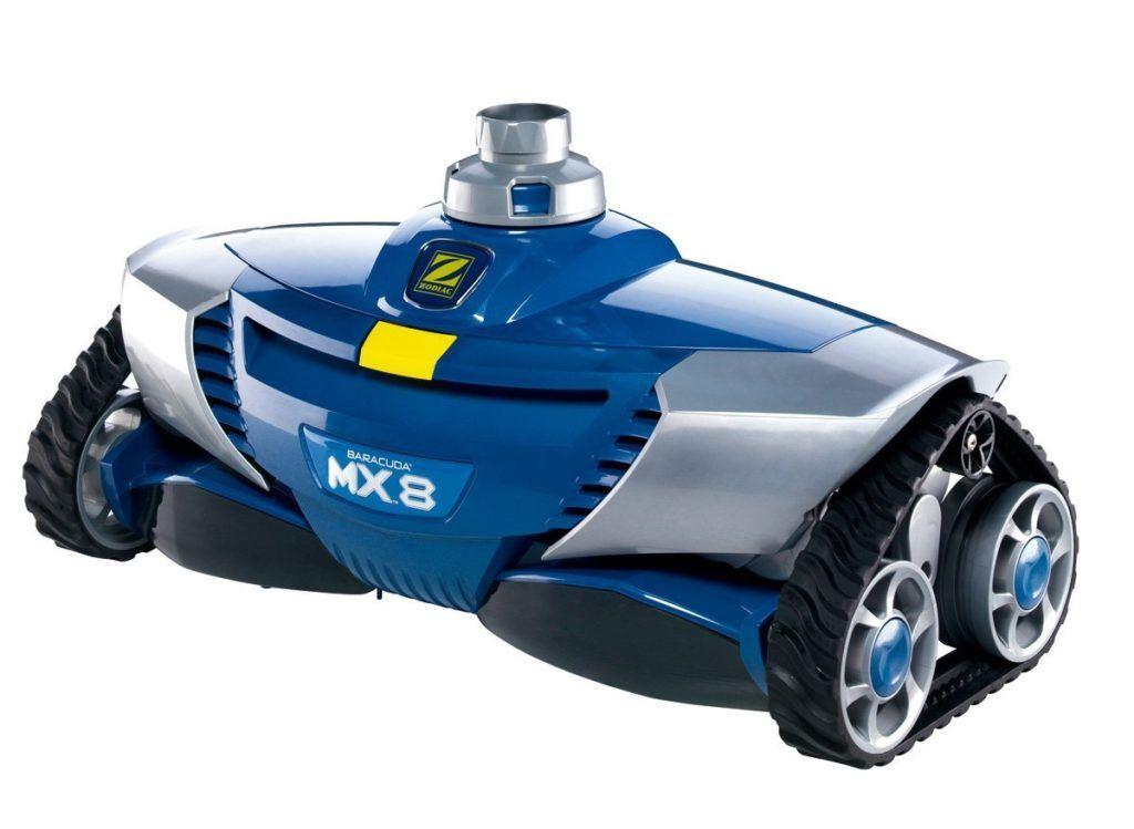 Poolroboter MX8 von Zodiac in der Frontansicht