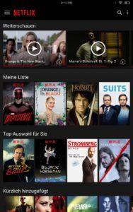 Netflix Liste
