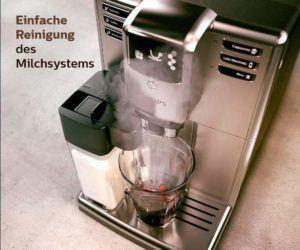 Der Kaffeevollautomat mit AquaClean Technologie von Philips 5000 Serie EP5365-10 im Test und Vergleich bei Expertentesten