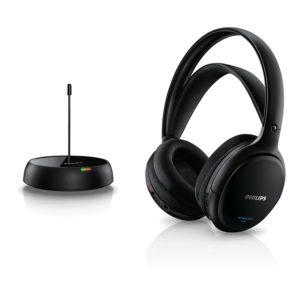 Philips SHC520010 kabelloser HiFi Kopfhörer schwarz