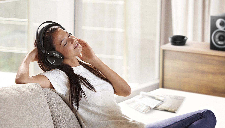 Philips SHD880012 Over-Ear Funkkopfhörer (offen, 15m Reichweite) schwarz test