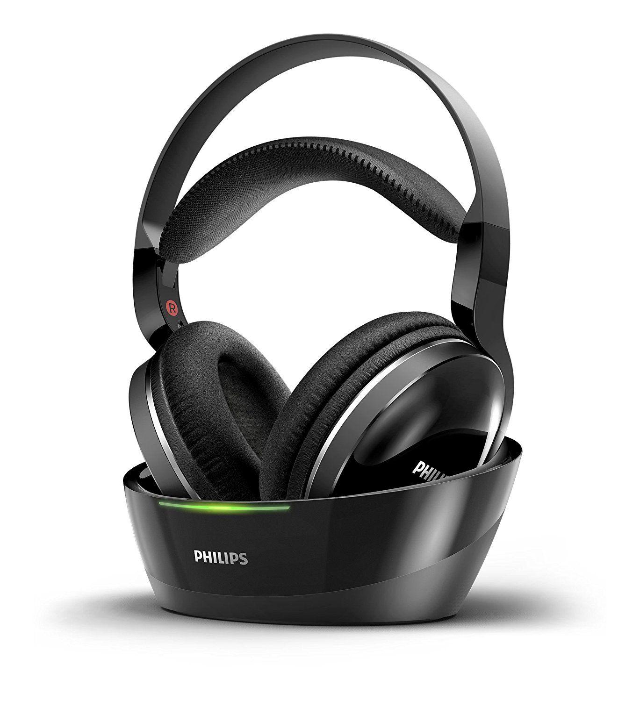 Philips SHD880012 Over-Ear Funkkopfhörer (offen, 15m Reichweite) schwarz