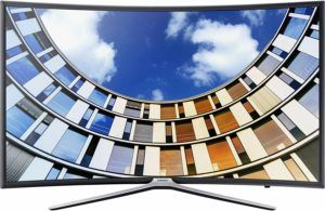 Samsung M6399 123 cm (49 Zoll) Curved Fernseher (Full HD, Triple Tuner, Smart TV)