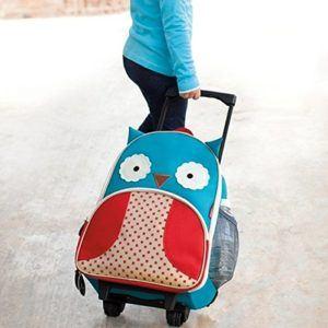Skip Hop 212304 Kinderreisetrolley, Zoo Luggage Owl - test
