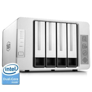 TerraMaster F4-220 4-Bay NAS Cloud Server mit Intel-Dual-Core