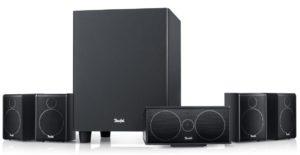 Teufel Consono 25 Mk3 5.1-Set Schwarz - Besonders kompaktes Heimkino-Lautsprecher-Set