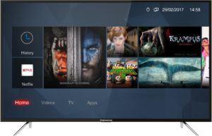 Thomson 49UC6326 124 cm (49 Zoll) Fernseher (Ultra HD, HDR, Triple Tuner, Smart TV) [Energieklasse A+]