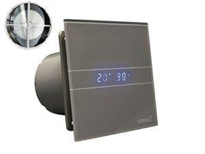 Ventilator Lüfter CATA E 100 GTH SILVER LINE INKL RÜCKSCHLAGKLAPPE Rückschlagventil Timer