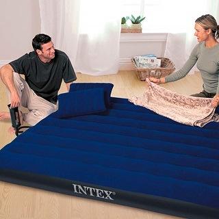 Intex Luftbett Classic Downy Blue Queen Set Luftbett : Vorteile im Test und Vergleich