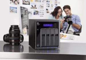 WD My Cloud EX4100 Leergehäuse - Expert Series - Network Attached Storage - 4-Bay NAS - WDBWZE0000NBK-EESN im test