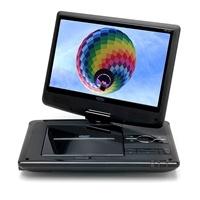 Tragbarer DVD Player HSD-1011 von Xoro mit schwenkbaren Bildschirm