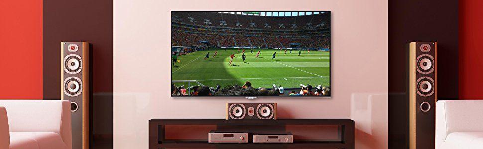 4K UHD SmartTV mit integriertem WLAN, Triple-Tuner und Netflix-Streaming-Funktion