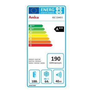Amica KGC 15440 E Kühl-Gefrier-Kombination test
