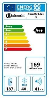Energieeffizienz beim Bauknecht KDA 2473 A2+ IO Kühlschrank im Test