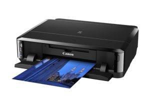 Canon Pixma iP7250 Tintenstrahldrucker mit WLAN Auto Duplex Druck (9600x2400 dpi, USB) + 5 Saphir-Tec Tintenpatronen (Originalpatronen nicht enthalten!)