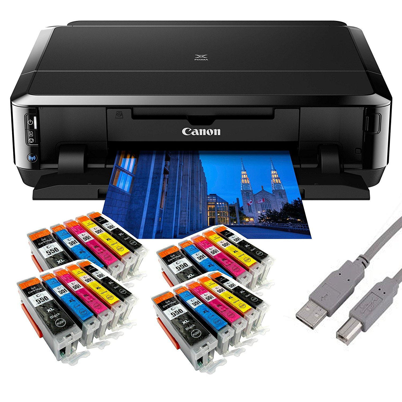 Canon Pixma IP7250 Tintenstrahldrucker Mit WLAN Auto Duplex Druck 9600x2400 Dpi USB