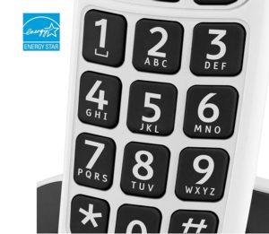 Tastatur der Doro Phone Schnurlostelefone im Test