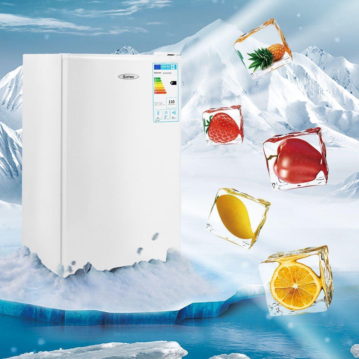 Gefrierstärke von einem Einbaukühlschrank mit Gefrierfach